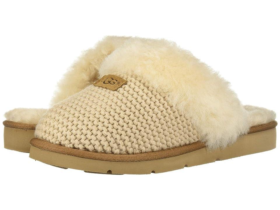 UGG Cozy Knit Slipper (Cream) Women