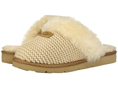 UGG Cozy Knit Slipper (Cream) Women