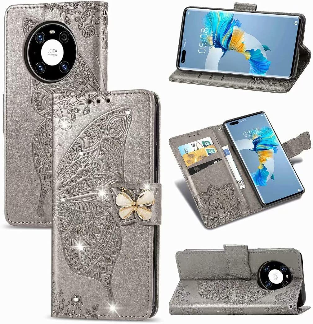 ZXL Compatible with Huawei Mate Butterfly Ranking TOP6 Pro Embo 40 San Francisco Mall Rhinestone