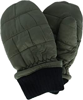 Densley & Co Boy's 4-6 Puffer Winter Mittens