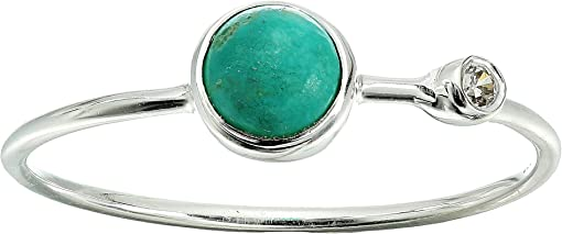 925 Sterling Silver/Genuine Turquoise/Cubic Zirconia