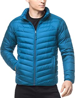LAPASA Men's Down Jacket - Warmth Without Weight - Duck Down-Filled Lightweight Packable Winter Outerwear M32