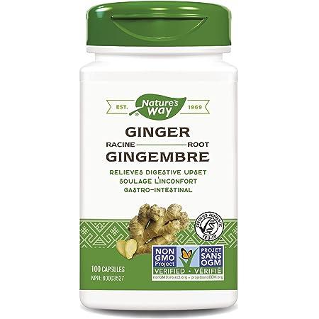Nature's Way Premium Herbal Ginger Root, 1,100 mg per serving, 100 VCaps