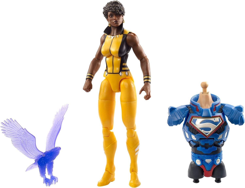 Justice League Mattel FVY92  Vixen Figur, Mehrfarbig