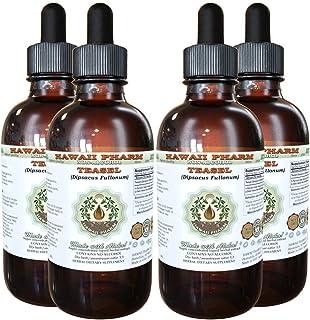 Teasel Alcohol-Free Liquid Extract, Teasel (Dipsacus fullonum) Dried Root Glycerite Natural Herbal Supplement, Hawaii Pharm, USA 4x4 fl.oz