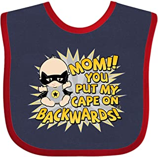 inktastic Mom You Put My Cape on Backwards/® Long Sleeve Creeper
