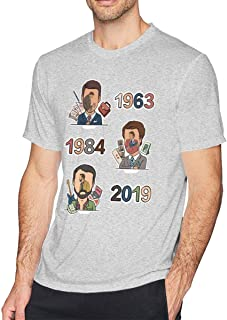 Tee Shirts for Men Short Sleeve Graphic T Shirts for Men with Beth Ann Simone Taylor Printing