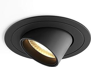 SAINUO LED spot encastré 5W 3000K Spot led encastrable CRI 90+ Pas de scintillement Spot intérieur LED plafon,Angle de fai...
