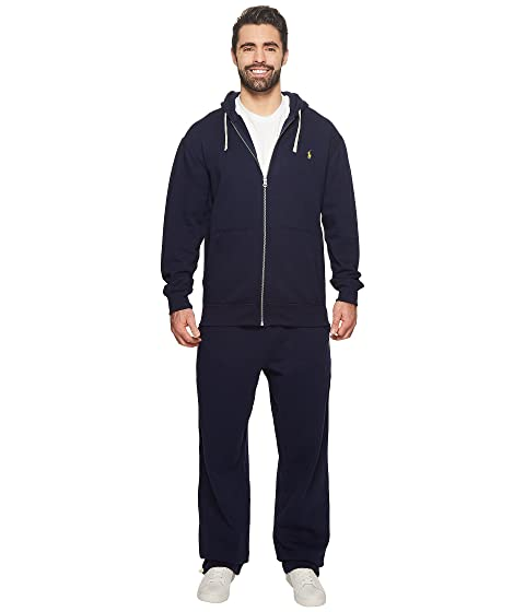 Lauren Ralph amp; Big Fleece Full Hoodie amp; Classic Polo Navy Cruise Tall Zip d5wqCdt