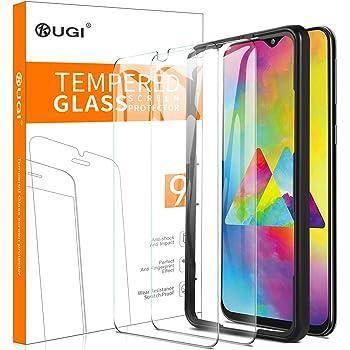KuGi. para Samsung Galaxy M20 Protector de Pantalla, Cristal ...