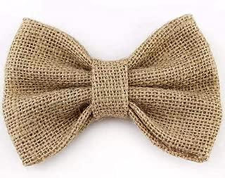Burlap hairbow - girls bow - fall hairbow - thanksgiving hairbow - tan burlap bow - tan hairbow - burlap hair bow - burlap bow - girls hair bow - My first thanksgiving - fall wedding