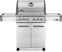 Napoleon LEX 485 BBQ Grill, Stainless Steel, Propane Gas – LEX485RSIBPSS-1 –..