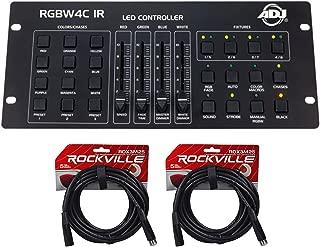 American DJ ADJ RGBW4C IR 32-Channel DMX Controller For Lights+DMX Cables