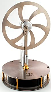 Low Temperature Stainless Steel Stirling Engine Model (Tested Before Shipping)