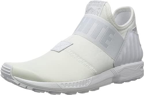 Adidas Originals Weiß Mountaineering ZX Flux Plus All Weiß Weiss Gr. 44