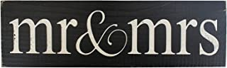 Mr & Mrs Vintage Wood Sign for Wedding Decoration, Prop, Gift or Wall Decor -- PERFECT WEDDING GIFT!
