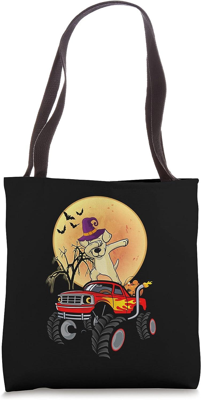 Max 47% OFF Dabbing Labrador Retriever Dog Monster Tote High quality new Truck Halloween Bag