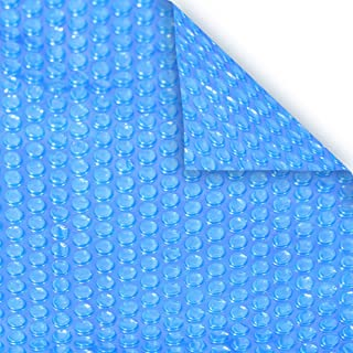 Pool Mate 4X8RS-8 BOXPM Solar Blanket for In-Ground Swimming Pool, 4' x 8' Rectangle Step Section, Blue