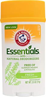 Arm and Hammer Essentials Deodorant Fresh Rosemary Lavender Wide, 71g