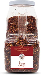 Papa Food All Natural Premium Crushed Red Chili, 3lbs (48 ounces)