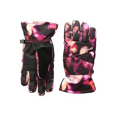 Spyder Kids Astrid Ski Gloves (Little Kids/Big Kids) (Daybreaker Print/Black) Ski Gloves