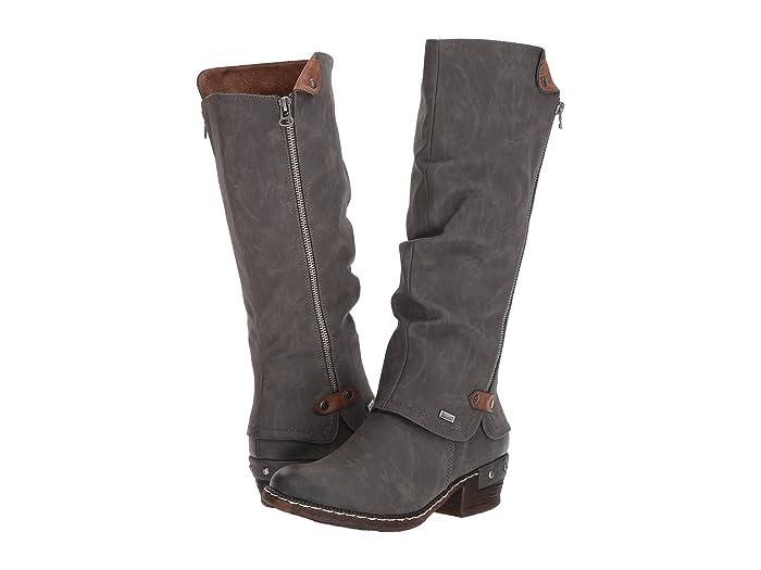 Rieker  93655 (Fumo/Kastanie) Womens Dress Boots