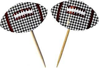 Houndstooth Party Picks (24 Pack) Alabama Houndstooth Collection by Havercamp