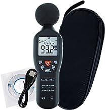Professional Decibel Meter, Digital Sound Level Meter with Backlight Display High..