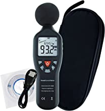 Professional Sound Level Meter with Backlight Display High Accuracy Measuring 30dB-130dB (with Data Record Function)