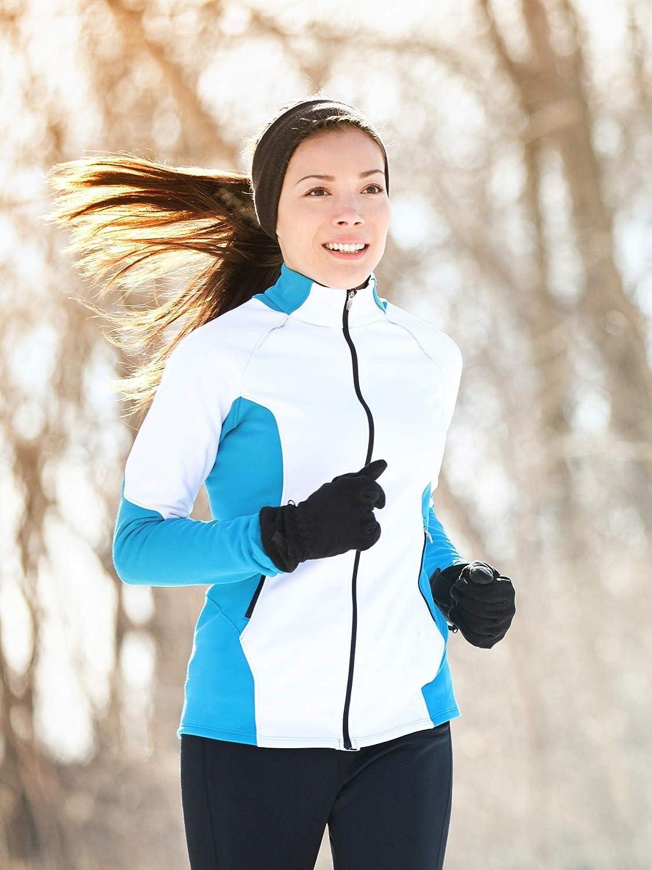 Boao 2 Pieces Ear Warmer Headbands Fleece Winter Headbands for Adult Kids Winter Using