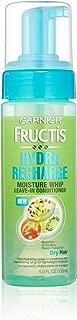 Garnier Fructis Hydra Recharge Moisture Whip Leave-In Treatment for Dry Hair, 5 Fluid Ounce