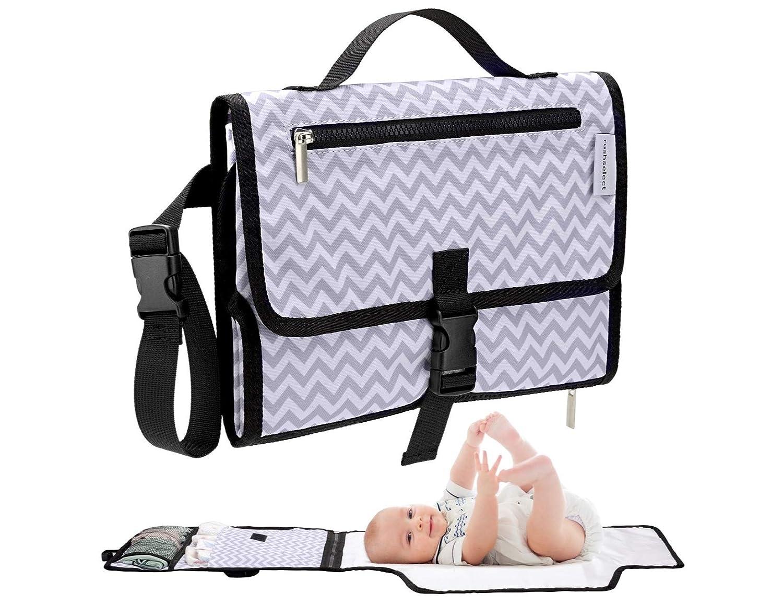 Rush Select Portable Diaper Changing pad, Travel Diaper Changing mat, Waterproof, Wipe Clean, Travel Changing Station, Changing Table Pads, Baby Changing mat