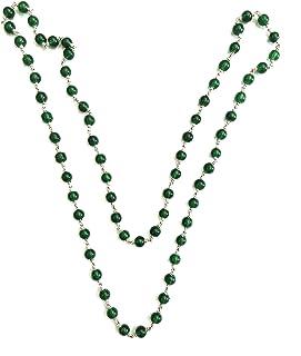 Saraswathi Green Color Alloy Chain for Women