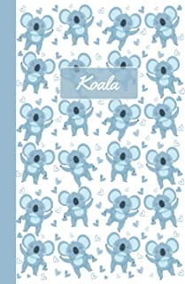 Koala: Notebook | Cute, Funny Diary | (Koalas Lovers) Journal | 6x9 | 110 Pages | Blank Lined Journal For Gift
