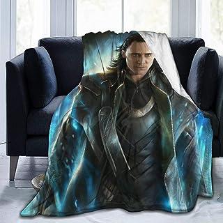 Lucky House1 L-O-Ki Ultra Soft Throw Blanket Flannel Fleece All Season Light Weight Sofa Couch Creative Warm Blanket,Black...
