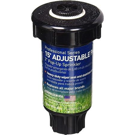 Center Strip Orbit 54185 2-Inch 400-Series Professional Pop-Up Sprinkler Spray Head with Plastic Nozzle