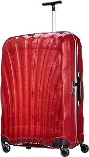 New Samsonite Cosmolite Suitcase Red Spinner 81/30 FL Lightweight V22107 53452