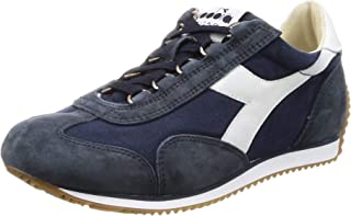 Diadora F9622 Sneaker Donna Blue Heritage Equipe Stone Wash Shoe Woman