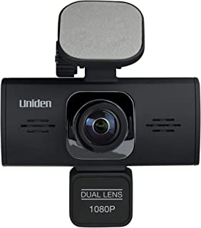 Máy thâu hình đặt trên xe ô tô – Uniden DC360 iWitness Dual-Camera Automotive Dashcam Video Recorder, G-sensor with Collision Detection and Parking mode Automatically Starts Recording
