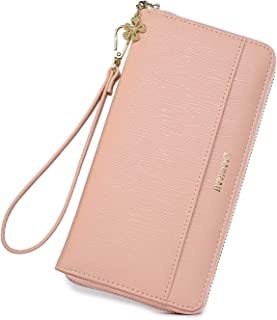 Women Wallet Phone wristlet Ladies Clutch Long Purse with Wrist Strap …