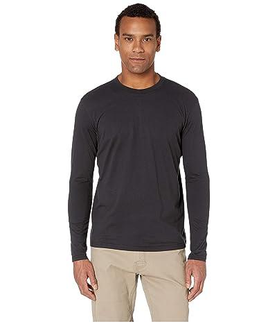 Prana Long Sleeve T-Shirt (Black) Men