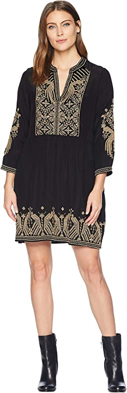 Himmel Boho Henley Dress
