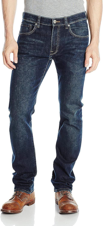 Lee Men's Miami Mall Modern Arlington Mall Series Jean Slim-Fit Straight-Leg