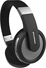 Sylvania Wireless Bluetooth Stereo Over Ear Headphones with Microphone - Black