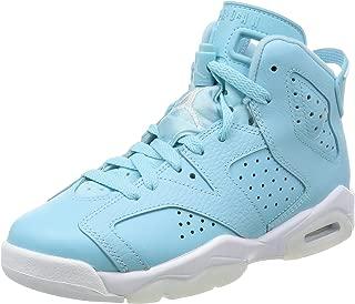 Jordan Nike Kids Air 6 Retro GG Basketball Shoe 6.5 Blue