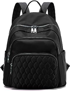 BMVMB حقائب الظهر النسائية المصنوعة من النايلون متعددة الأغراض حقيبة سفر مدرسية كاجوال خفيفة الوزن قوية حقائب ظهر صغيرة
