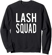 Lash Squad Cute Sweatshirt For Esthetician Lash Artist