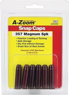 A-ZOOM 357 Magnum Precision Snap Caps (6 Pack)