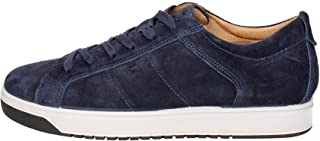 Imac Scarpe Uomo Sneaker camoscio Blu 81641-78055/009