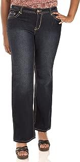Women's Plus Size Basic Legendary Stretch Bootcut Denim Jeans